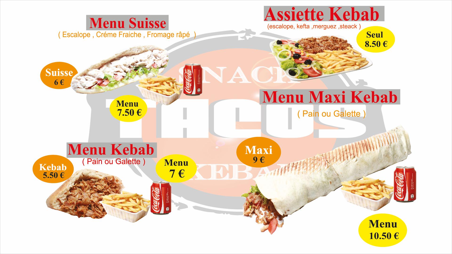 Restauration rapide fast food kebab tacos r seaux for Reseau pro cuisine